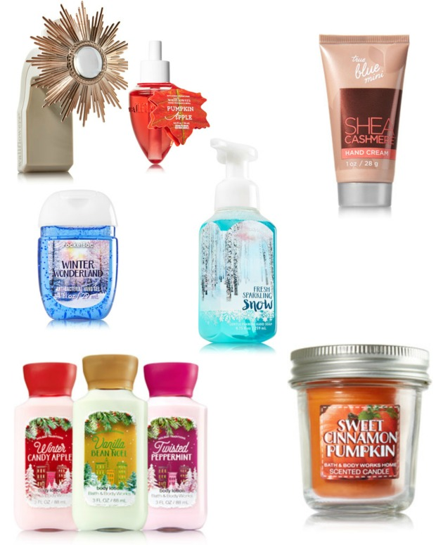 Bath and Body Works Wish List