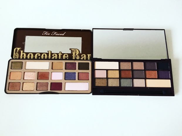 Chocolate Bar Eyeshadow Palettes- Too Faced and I Heart Makeup ...