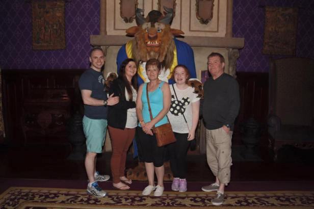 Disney Magic Kingdom Be Our Guest Beast