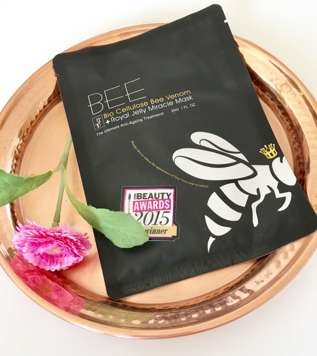 Timeless Truth Bio Cellulose Bee Venom and Royal Jelly Mask
